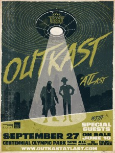 Outkast - announce poster 2