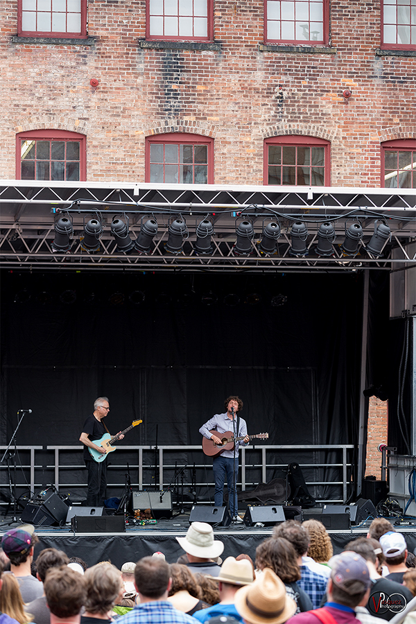 Saturday June 27, 2015 Bill  Frisell with Sam Amidon at Solid Sound Music Festival at Mass MoCA in North Adams, MA.
