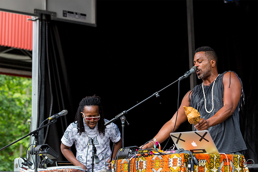 Saturday June 27, 2015 Shabazz Palaces at Solid Sound Music Festival at Mass MoCA in North Adams, MA.