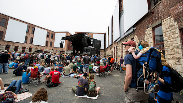 Saturday June 27, 2015 Luluc at Solid Sound Music Festival at Mass MoCA in North Adams, MA.