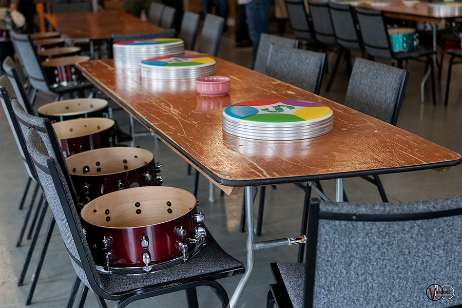 Saturday June 27, 2015 Drum workshop with Glenn Kotche Solid Sound Music Festival at Mass MoCA in North Adams, MA.