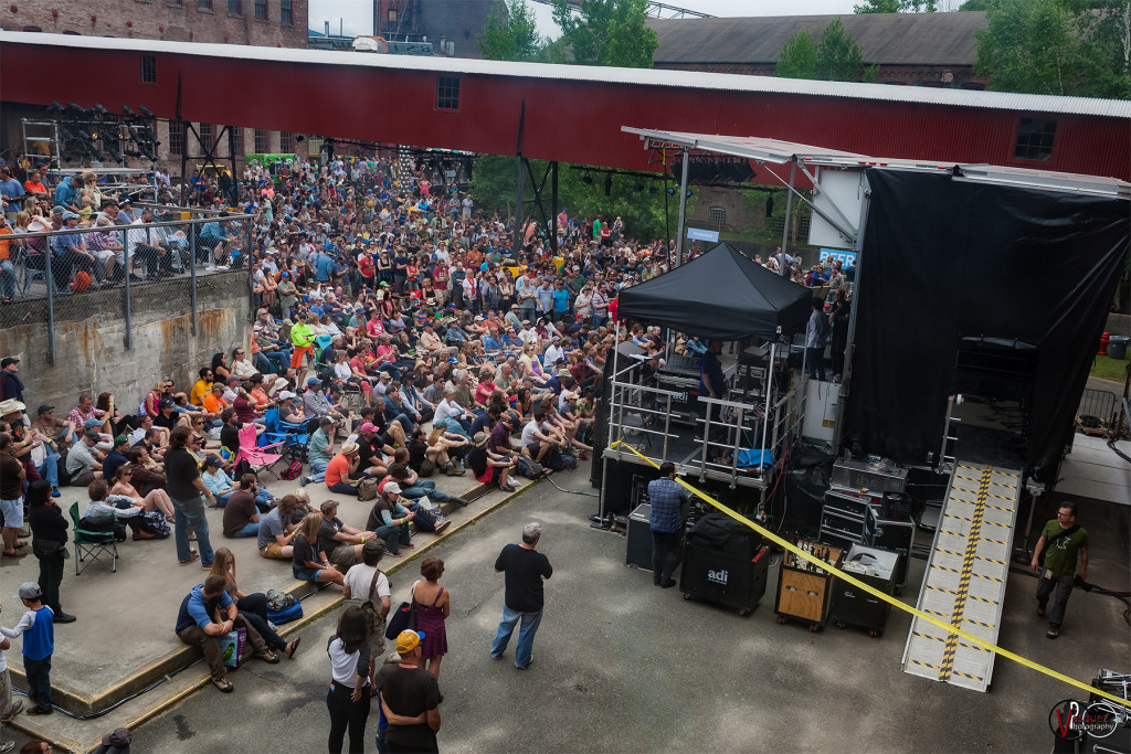Saturday June 27, 2015 Solid Sound Music Festival at Mass MoCA in North Adams, MA.