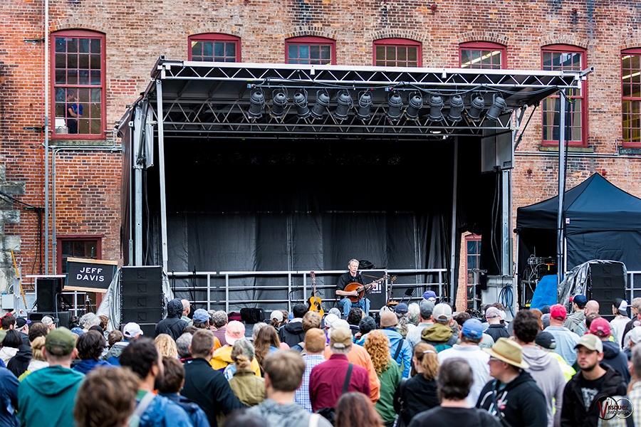 Sunday June 28, 2015 Jeff Davis at Solid Sound Music Festival at Mass MoCA in North Adams, MA.