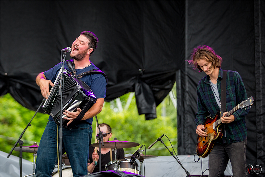 Sunday June 28, 2015 Felice Brothers Solid Sound Music Festival at Mass MoCA in North Adams, MA.