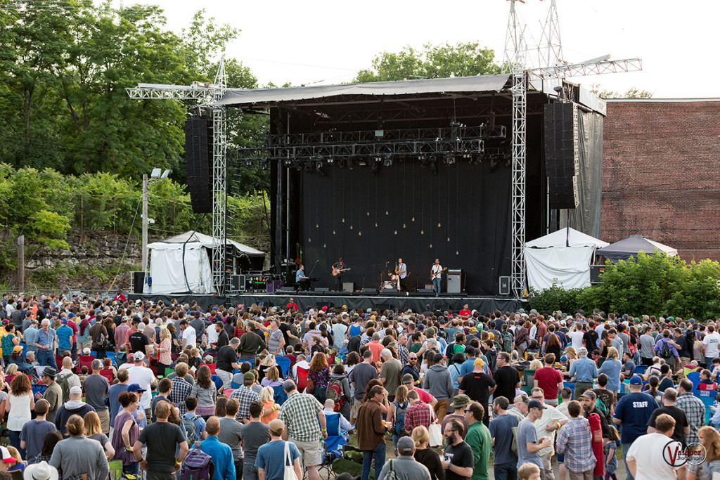 Friday June 26, 2015 Real Estate at Soild Sound Music Festival at Mass MoCA in North Adams, MA.
