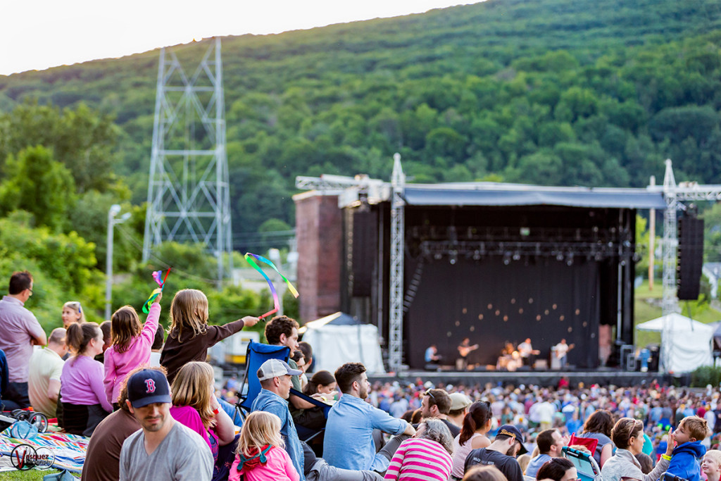 Friday June 26, 2015 Soild Sound Music Festival at Mass MoCA in North Adams, MA.