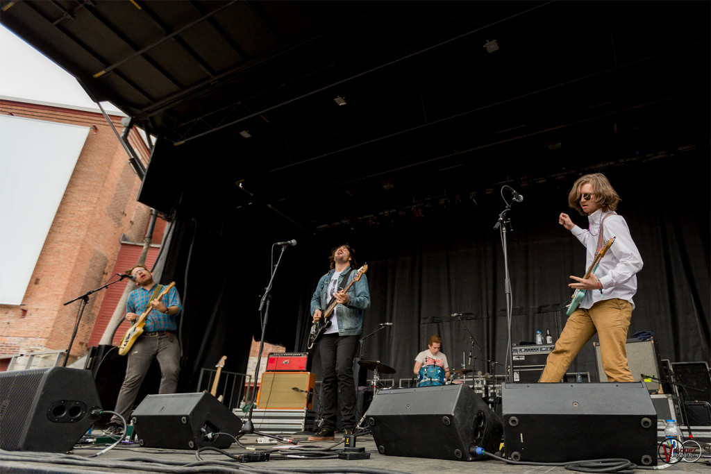 Saturday June 27, 2015 Parquet Courts Solid Sound Music Festival at Mass MoCA in North Adams, MA.