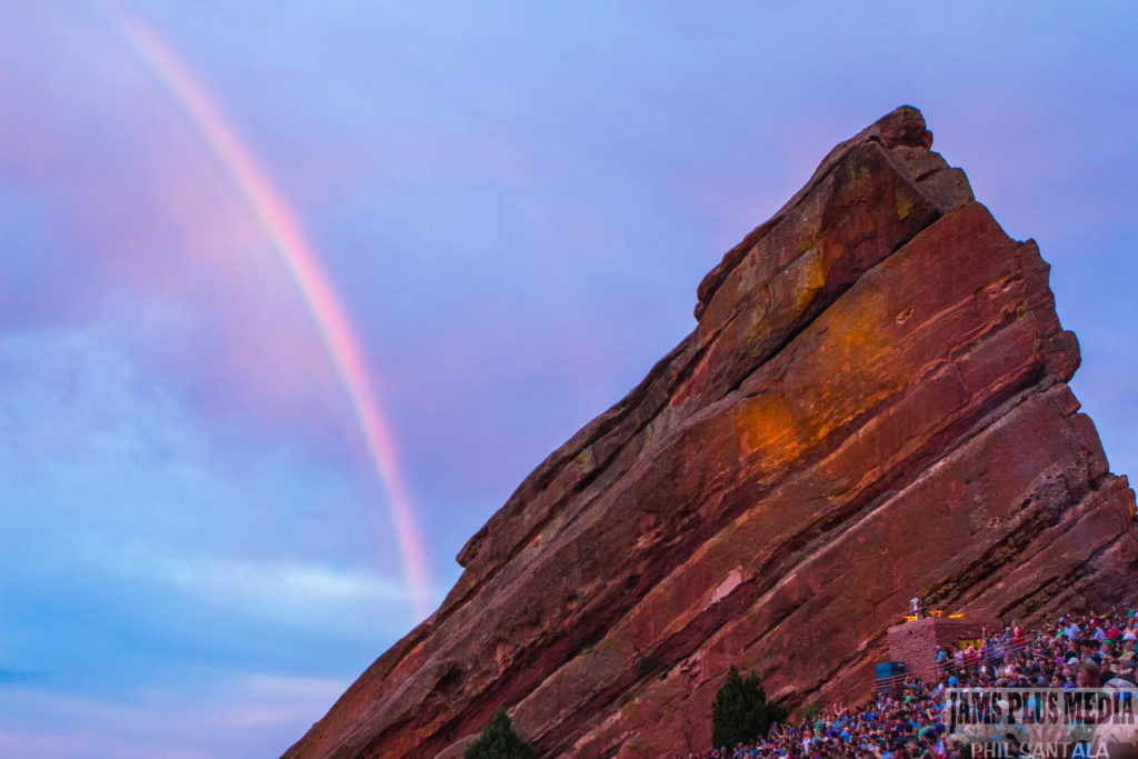 Red Rocks Produces It's Own Fireworks